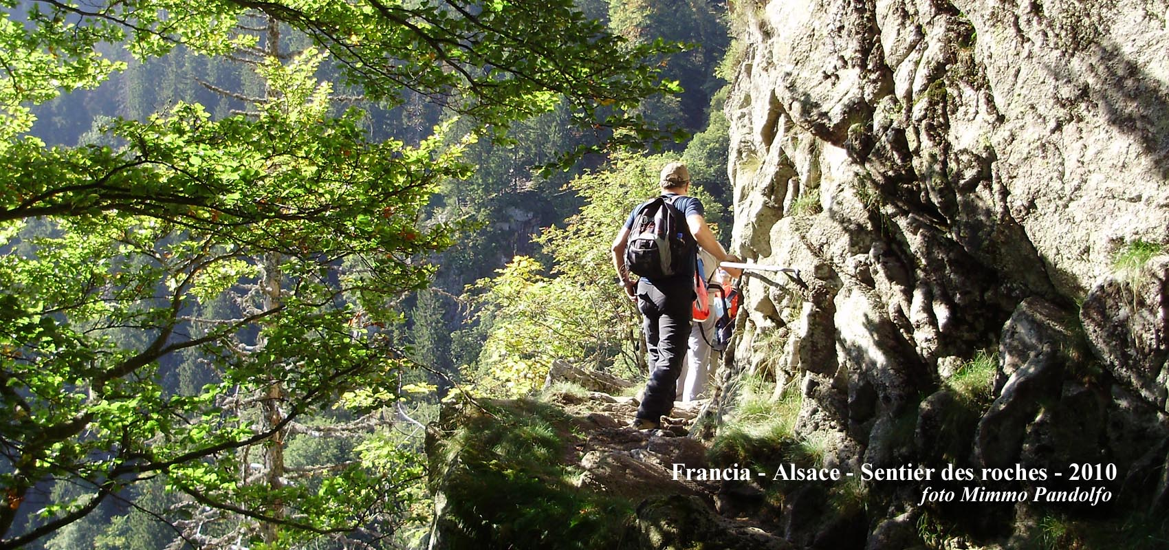 Francia, Alsace - Sentier des Roches - 2010