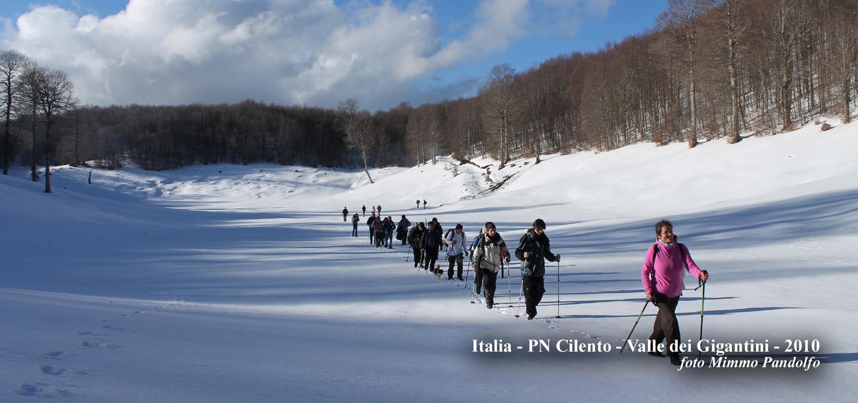 Italia, PN Cilento - Valle dei Gigantini - 2010